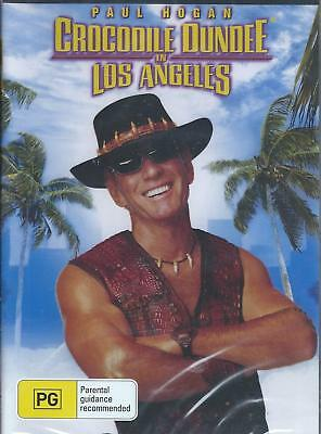 Crocodile Dundee In Los Angeles . Dvd . Region All (Paul Hogan ) New And Sealed