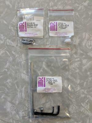RHEODYNE 7725-055 Parts Kit, 7125-054 Needle Port Cleaner 7010-047 NEW OLD STOCK