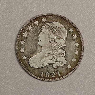 1821 Capped Bust Quarter *Nice Fine*