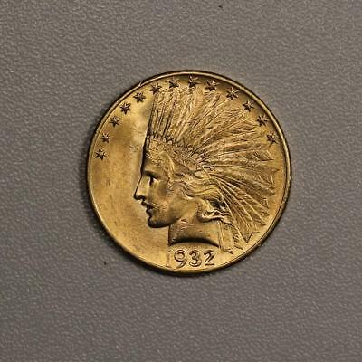 1932 $10 Gold Indian Eagle *Choice BU*
