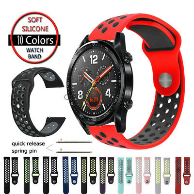 Sport Silicone Replacement Bracelet for Huawei Watch GT Smart Watch Band Strap