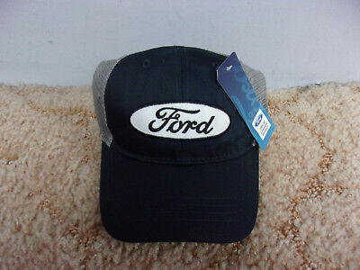 Ford Motor Company Adjustable Mesh Hat Embroidered Logo NWT NICE L@@K