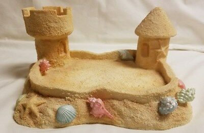 Cherished Teddies Bear By The Sea Display Stand  Sand Castle Beach CRT233