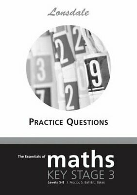 The Essentials of Maths: Key Stage 3, Levels 5-8: ... by Proctor, John Paperback