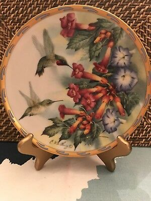 Lenox 1994 Catherine Mcclung Jeweled Glory Plate