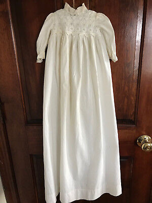 Antique Baby Christening Dressing Gown