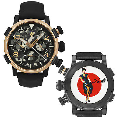 Romain Jerome Pinup DNA Red Gold WWII Kate Garter Chronograph Automatic