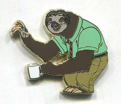 FLASH the Sloth at DMV - 2018 Zootopia Booster Collection Disney Pin