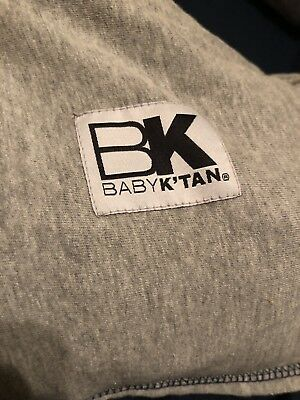 Baby K'tan Carrier Gray (not Black) Medium