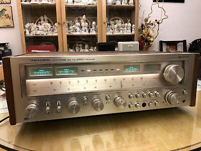 Vtg Realistic Sta 2100D Am Fm Stereo Receiver Tuner Works