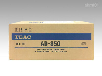 TEAC AD-850 CD / Cassettes Tape Player USB Microphone input from Japan EMS Fast