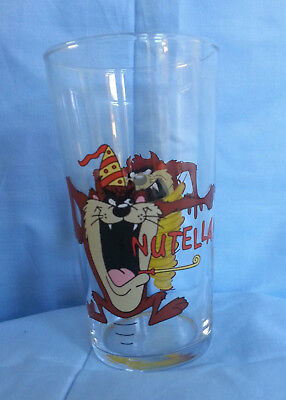 Nutella Tasmanian Devil Drinking Glass