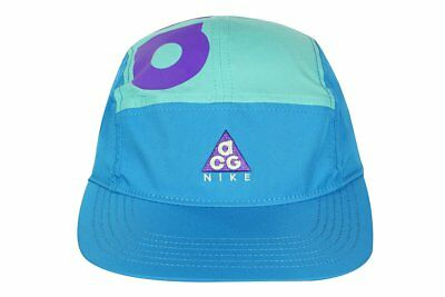 c9b09133a83 Nike ACG AW84 Hat Cap AO2104-430 5 Panel NikeLab All Conditions Gear Teal  Grape