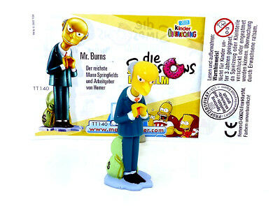Ü ei Figur Die Simpsons Mr. Burns + BPZ