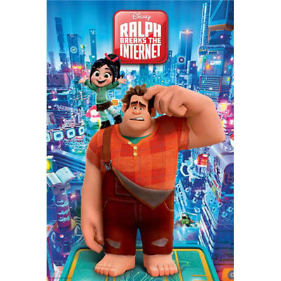 Wreck It Ralph 2 - Internet City POSTER 61x91cm BRAND NEW