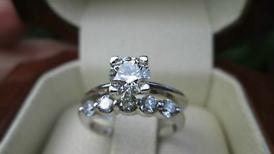 Certified 2.25 Ct Round Cut Diamond Solitaire Engagement Ring 14k white Gold