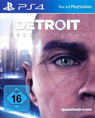 PS4 / Sony Playstation 4 Spiel - Detroit: Become Human mit OVP