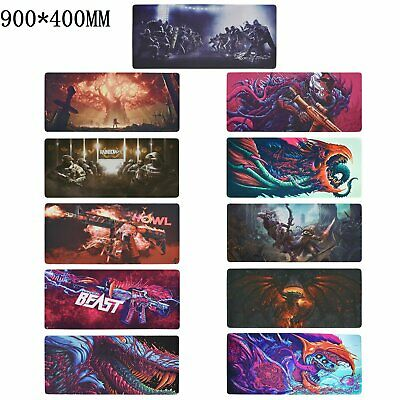 Gaming Mouse Pad Extended XXL Size Hyper Beast CSGO Mat Desk Keyboard Laptop PC