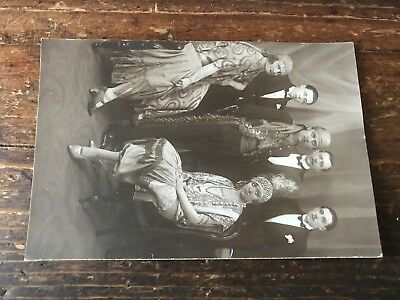 carte postale ancienne costume N 46 theatre