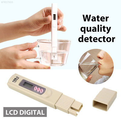 9D74 Digital Water Quality Detector LCD With Button Household Plastic Tools PPM
