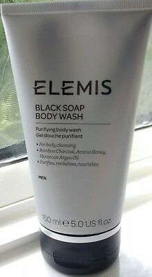 Elemis Black Soap Body Wash - 150Ml - New Launch