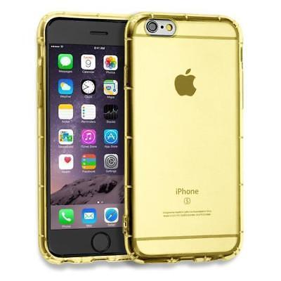 Crystal Case TPU Apple iPhone 6 6s Custodia Ultra Morbida Cover Silicone Giallo