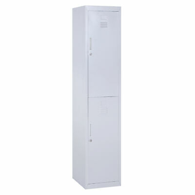 Vinsetto 1.8m Locker Office Cabinet Storage Cold Rolled Steel w/ Shelves