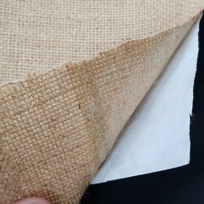 Cream Hessian Fabric Soft Jute Cloth Material 90cm Wide Sold Per Mtr UK Stock