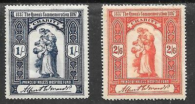 Gb Charity Issue Prince Of Wales Hospital Fund 1879; M/mint Set.