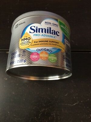 Similac Pro-Advance Infant Baby Formula 8 Oz Can Free Shipping