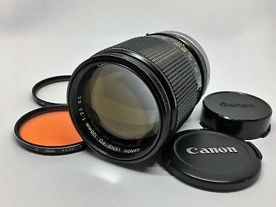Canon FD 135mm f/2.5 S.C Telephoto MF Lens [Excellent+++] from Japan