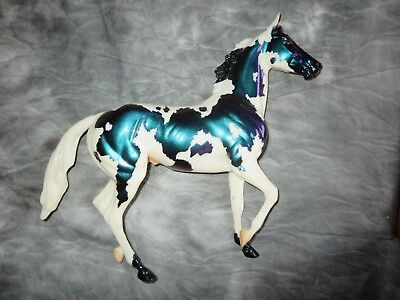 """Breyer 2007 JAH SR """"Reflector"""", Lonesome Glory color change pinto,only 1500 made"""