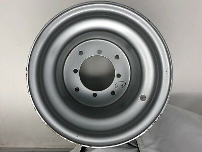 Steel Wheel Silver 9x9-3+6 Offset I.T.P. 4//110 925810700 ITP
