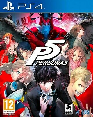 PS4 / Sony Playstation 4 Spiel - Persona 5 #Limited Edition mit OVP / Steelbook