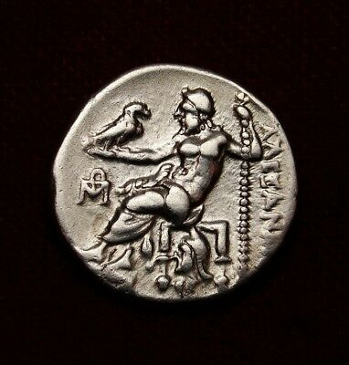 Alexander the Great Drachma. MS/AU. Antigonus I estimated value$1,000.Greek coin
