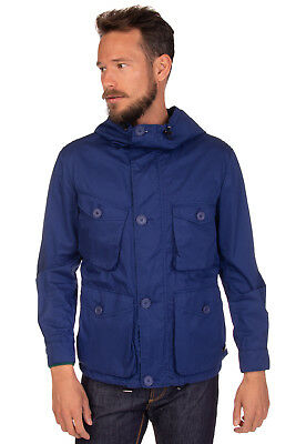 313 TRE UNO TRE Jacket Size IT 48 / M Lightweight Drawcord Hooded RRP €195