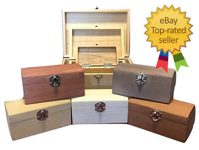 Large to Small Engraved Trinket Box Personalised Painted or Plain Wooden Boxes