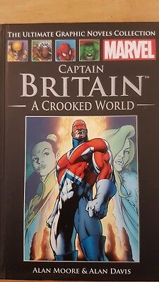Marvel ultimate Graphic Novels number 3 Captain Britain A Crooked World