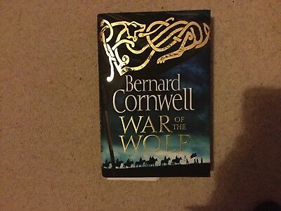 War Of The Wolf - Bernard Cornwell Hardcover - Excellent used condition ❤