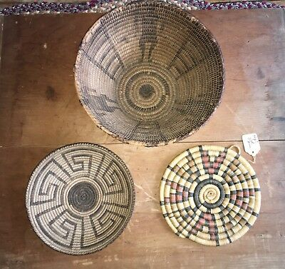 Old Southwest Native American Indian Baskets