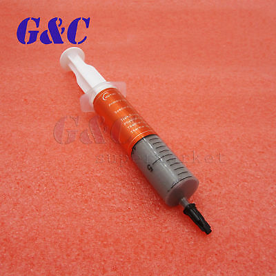 30g Grey Thermal Grease Paste Compound Silicone For Laptop Desktop CPU Heat Sink