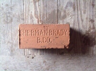 Antique Brick ********   Sherman Brady B.  Co. **********