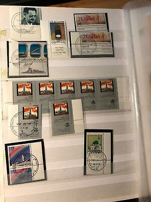 Israel stamps lot from album MNH + FD cancel