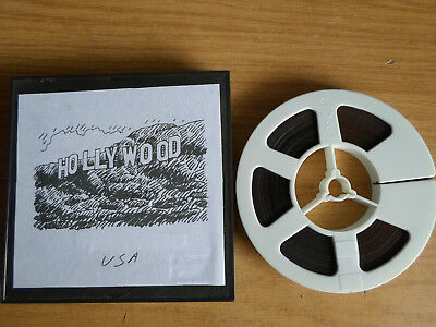 Super 8mm sound 1X200 HOLLYWOOD USA. Documentary.