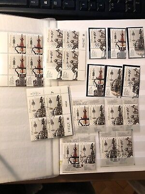 1990 Israel stamps lot from album MNH +FD cancel