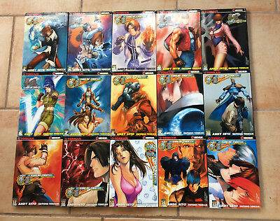 The King Of Fighters Zillion n°1 à 15 -  Intégrale Manga Rare Andy Seto