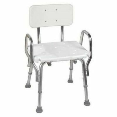 DMI 522-1733-1900 Bath Seat With Cut-Out Seat & Back Rest Non Slip