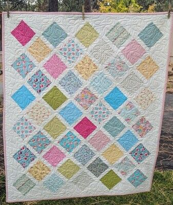 Quilt Handmade New  Child Girl /lap Size Heirloom Worthy