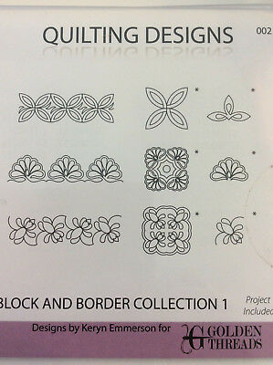 Quilting Designs Blockand Border Collectiob 1 for QBot