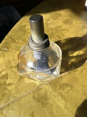 Vintage Glass Oil Kerosene Lamp, Comes with cloth, needs new wick